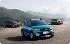 Nyt Dacia-henkilöautoihin peruutuskamera veloituksetta!