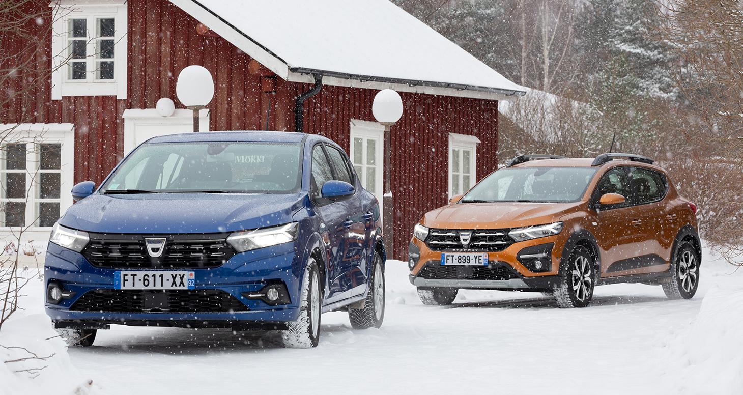 Dacia Sandero ja Dacia Sandero Stepway